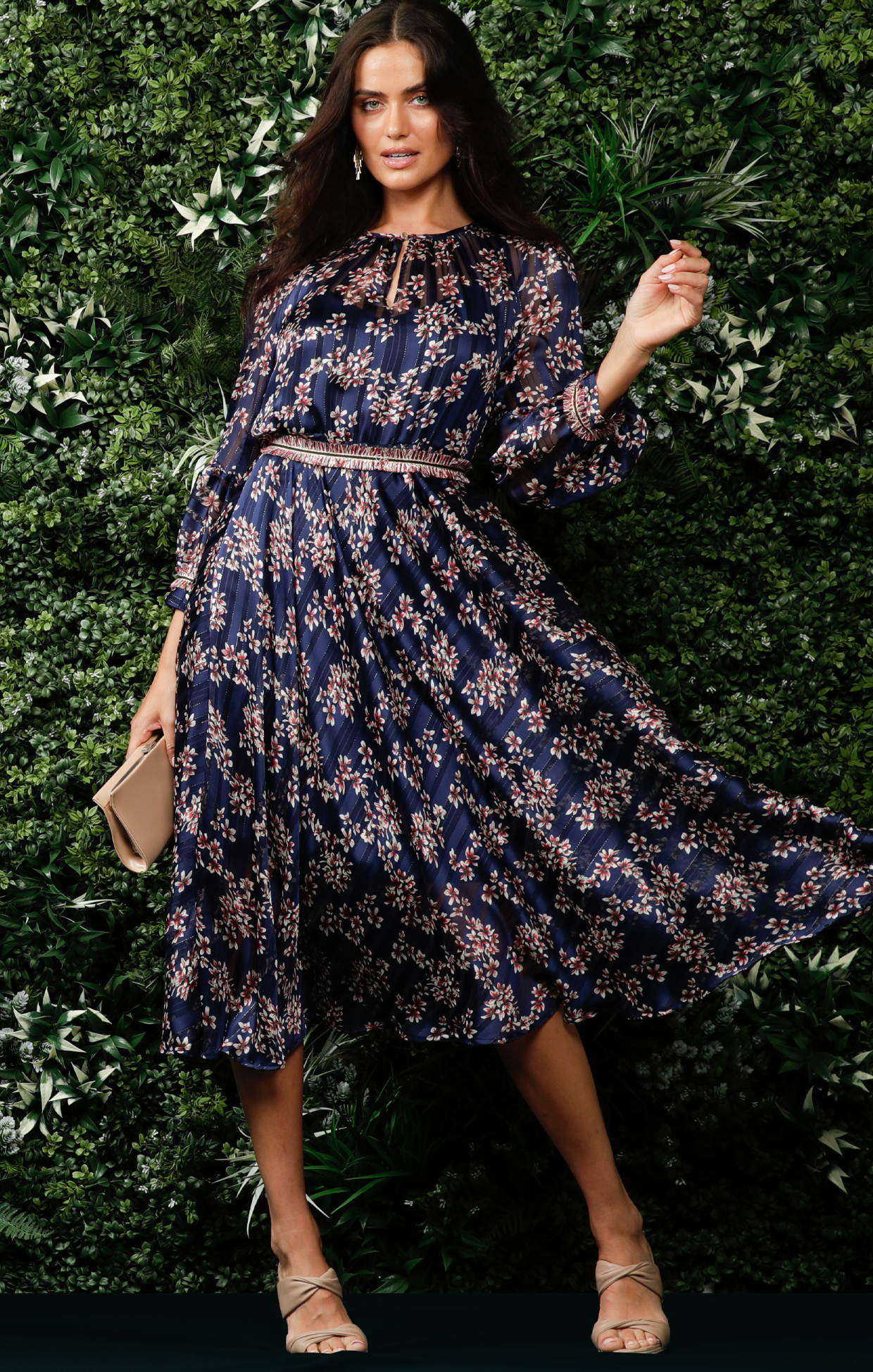 LR_CLEMENCE MIDI DRESS IN NAVY LUREX FLORAL CAMPAIGN 20[1]